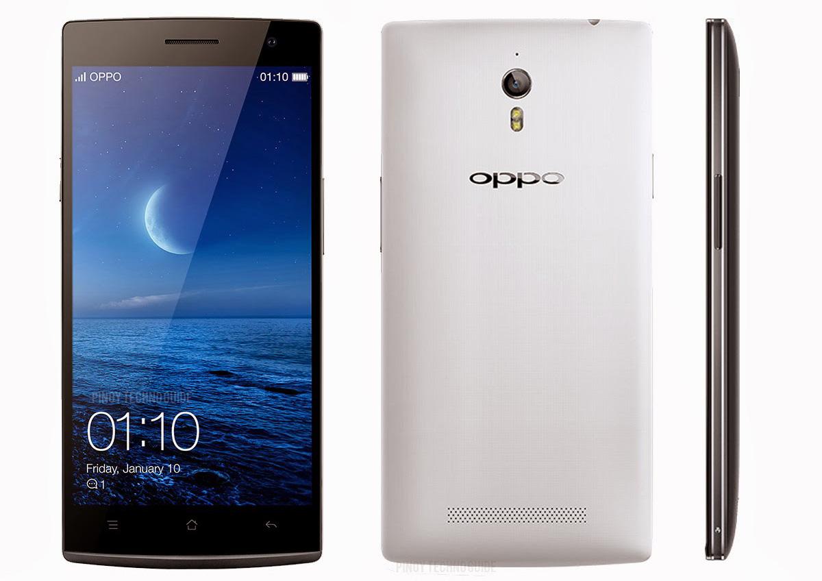 Model Oppo Find 7