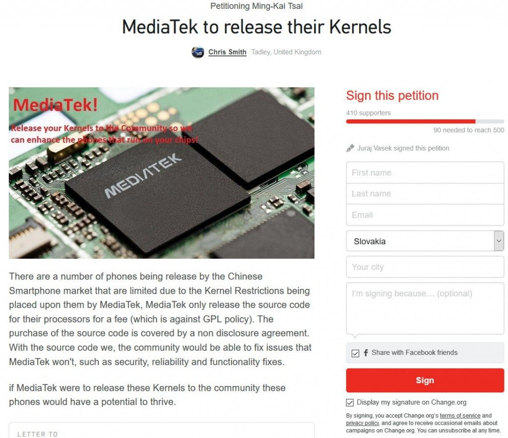 Peticia_mediatek