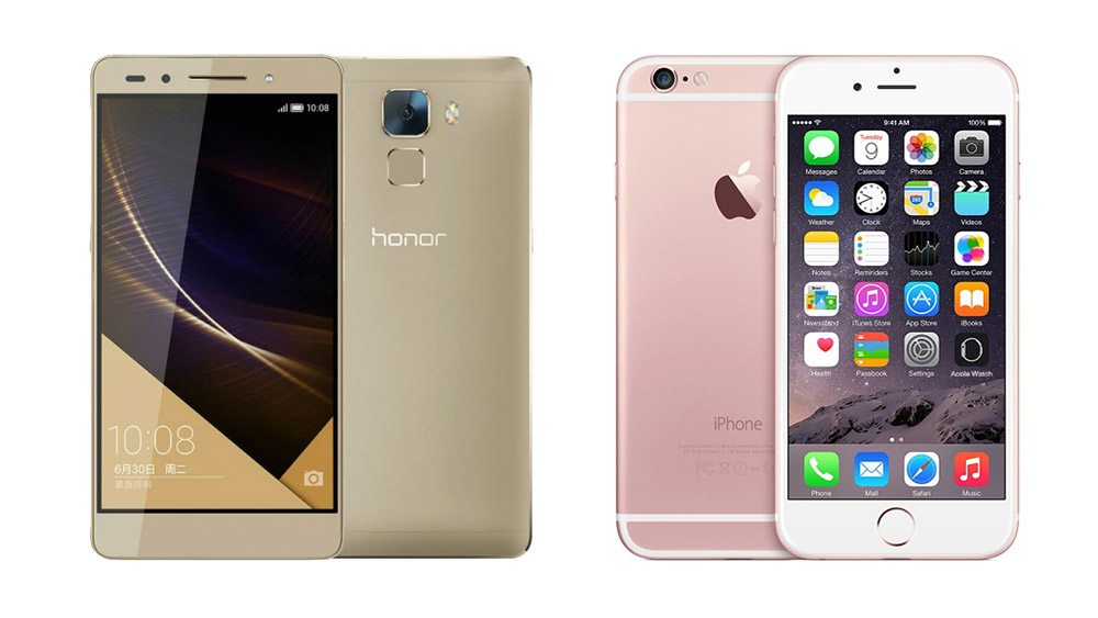 honor-7-vs-iphone-6S