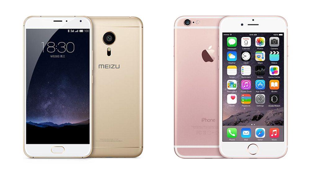 meizu-pro-5-vs-iphone-6S