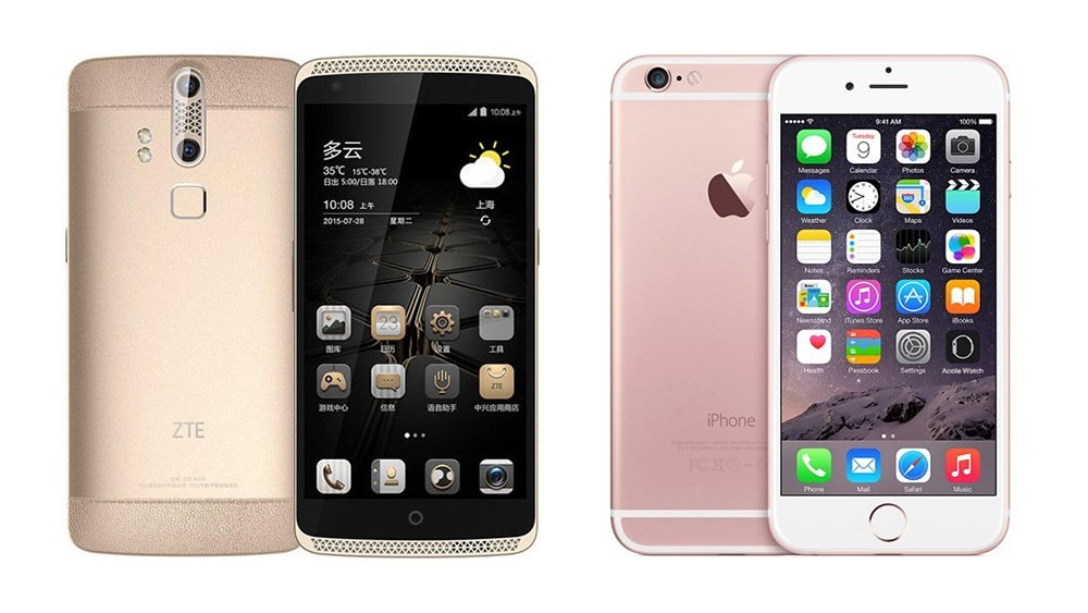 zte-axon-vs-iphone-6S