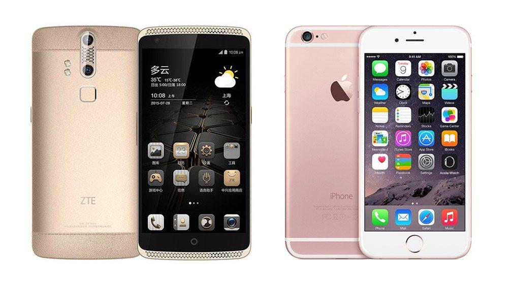 zte-axon-vs-iphone-6S