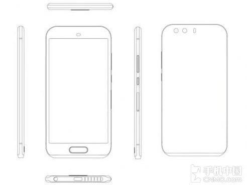 Nedávno uniknutý render Huawei P9