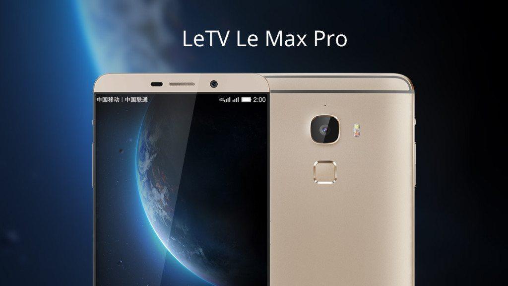 LeEco (LeTV) Le Max Pro spolu s neznámym modelom LeTV X501 ...