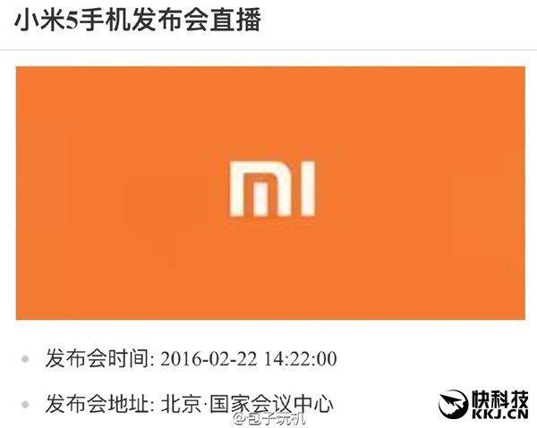 Xiaomi Mi5 predaj