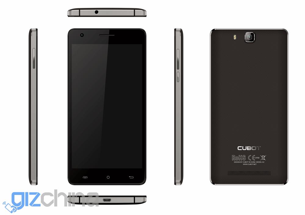 cubot h2 black