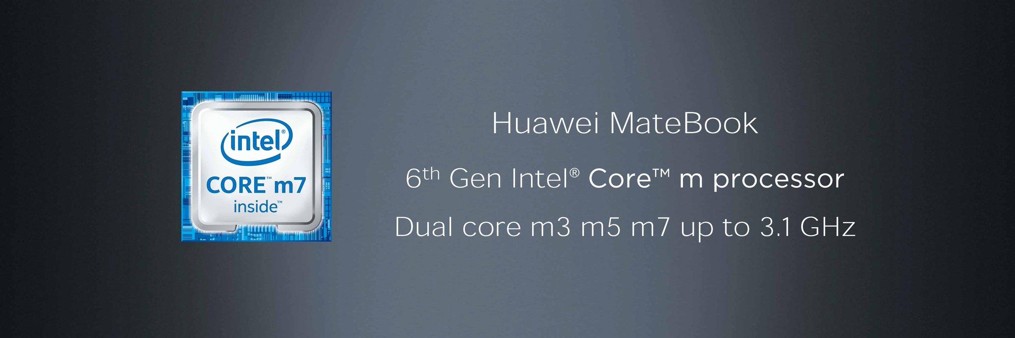 huawei matebook procesor
