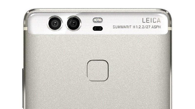 duálny fotoaparát smartfónu Huawei P9