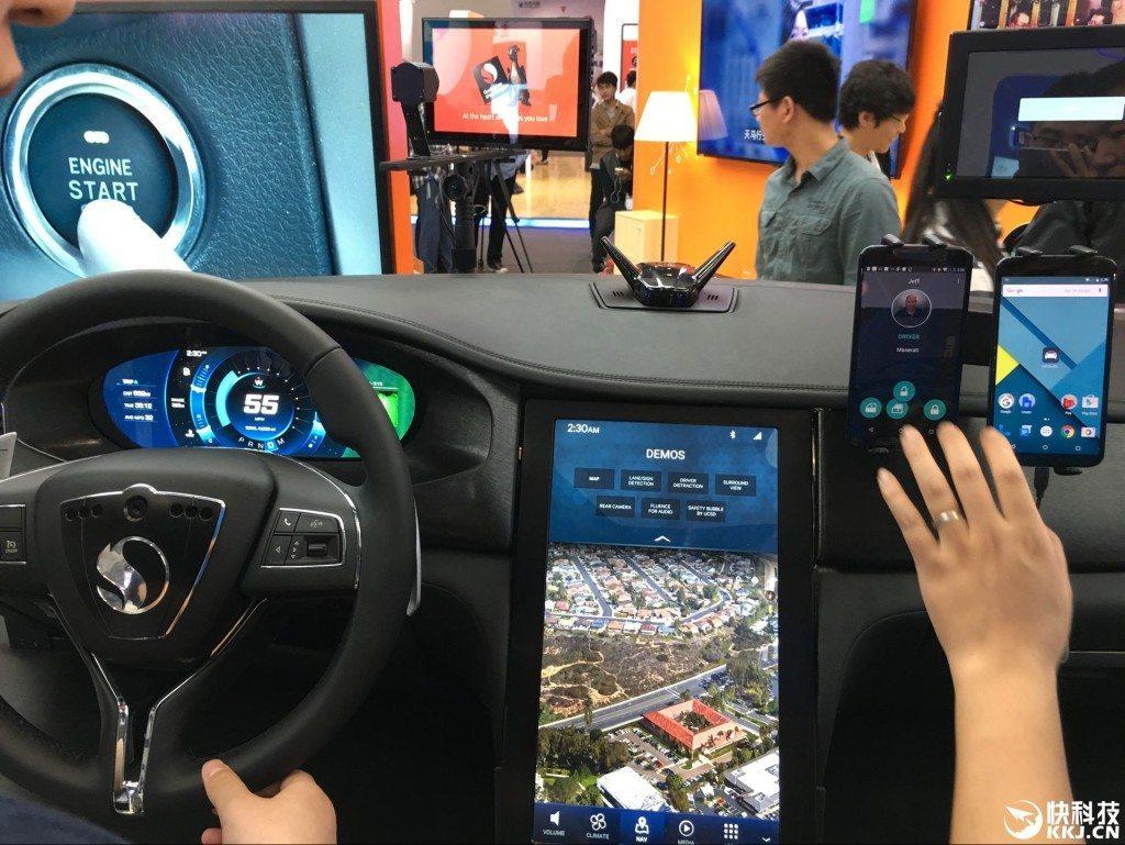 snapdragon 820 smartcar