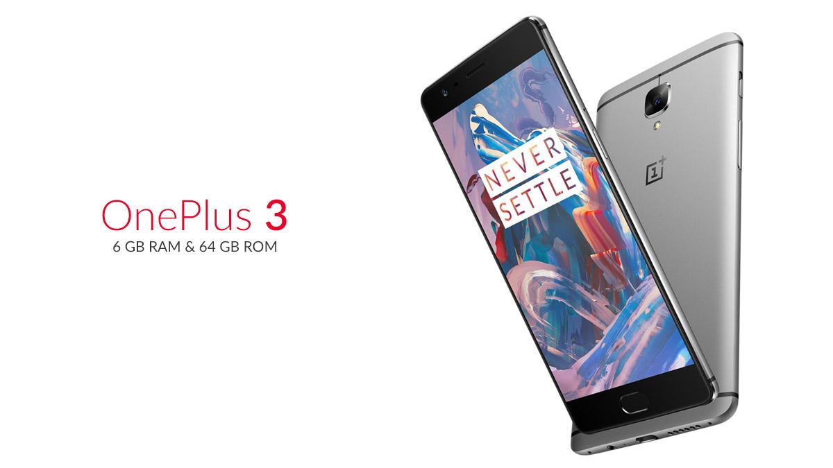 OnePlus 3 price