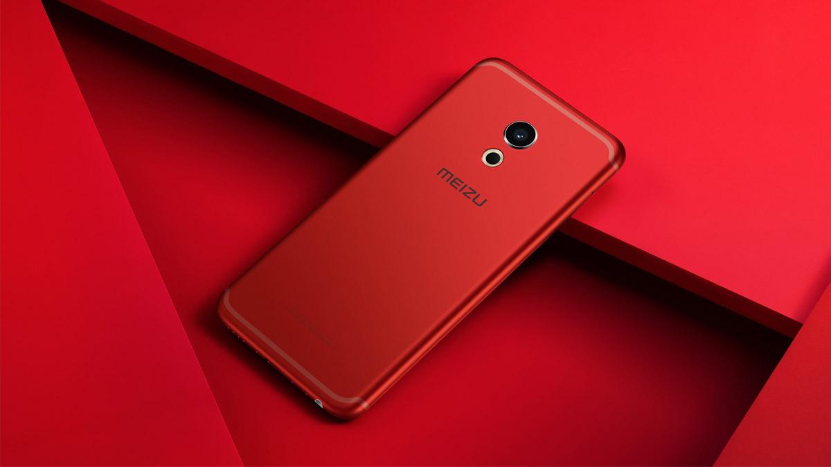 Meizu Pro 6 red