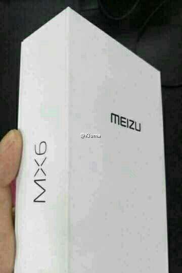 Meizu MX6 balenie