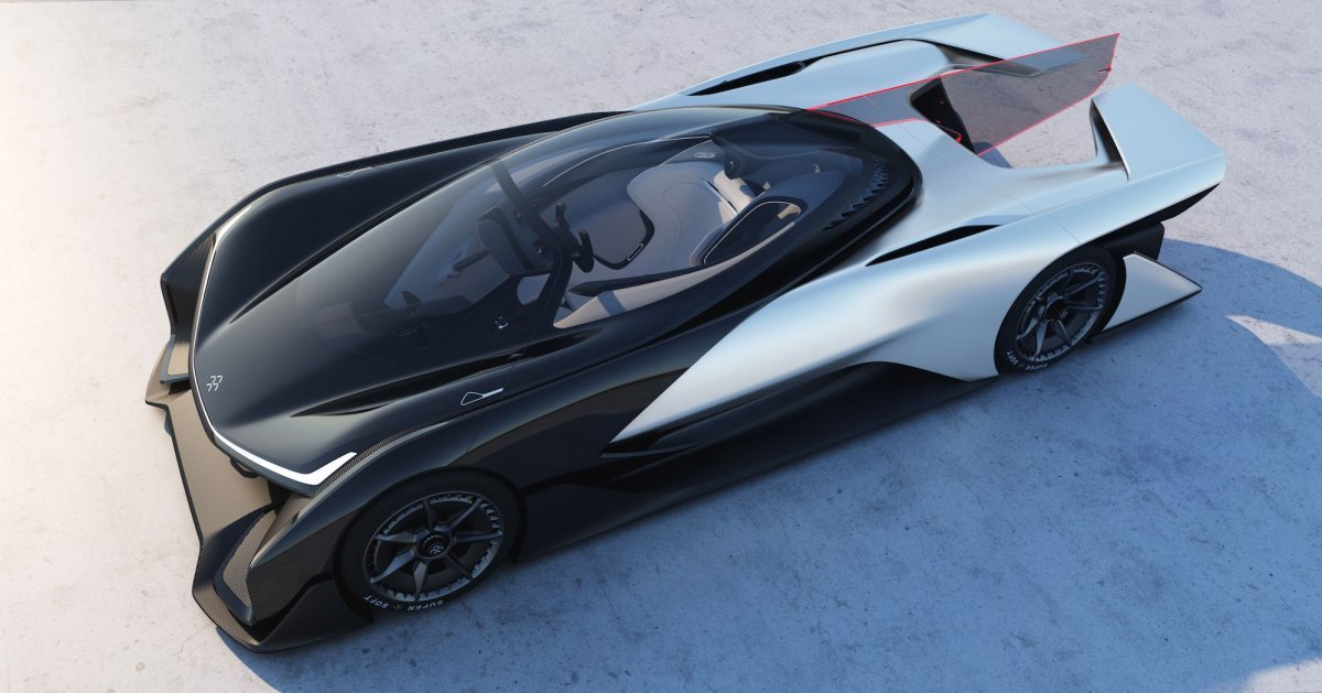 faraday future FZERO1-1