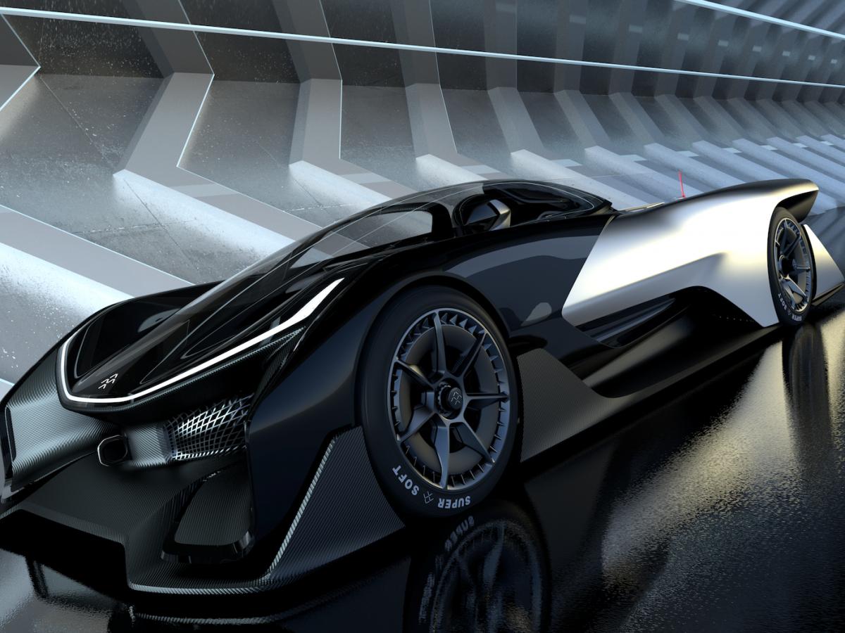 faraday future FZERO1-2