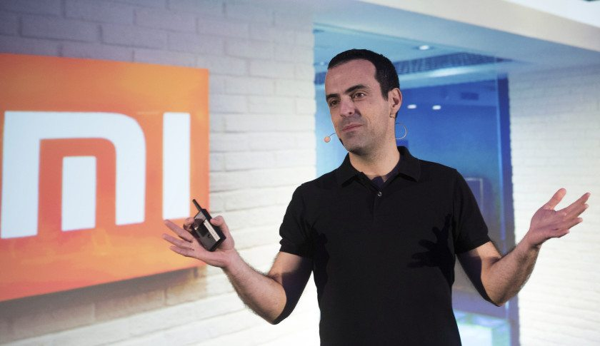 Hugo Barra, vice president of global operations at Xiaomi Corp., speaks during a news conference in Hong Kong, China, on Monday, March 21, 2016. Xiaomi has been profitable for a long time and is self-sustaining, Barra said Monday. Photographer: Xaume Olleros/Bloomberg via Getty Images