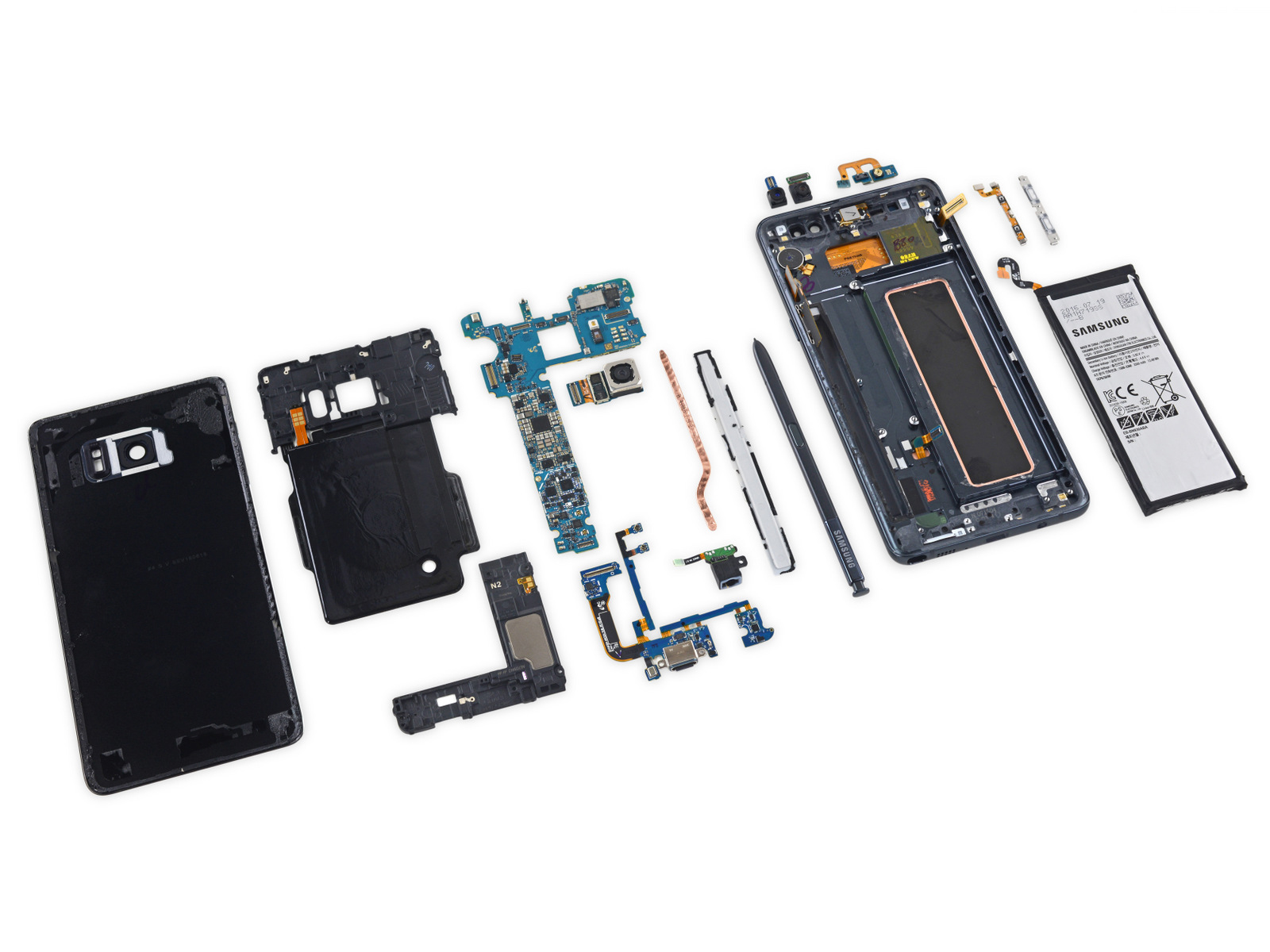 samsung galaxy note 7 teardown-1