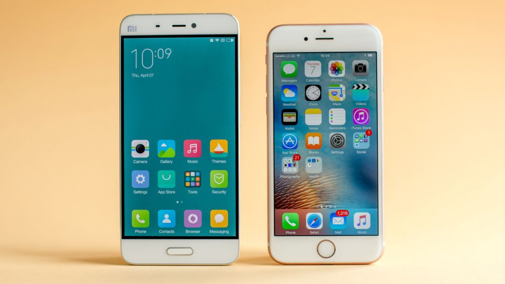 xiaomi-mi5-vs-iphone-6s