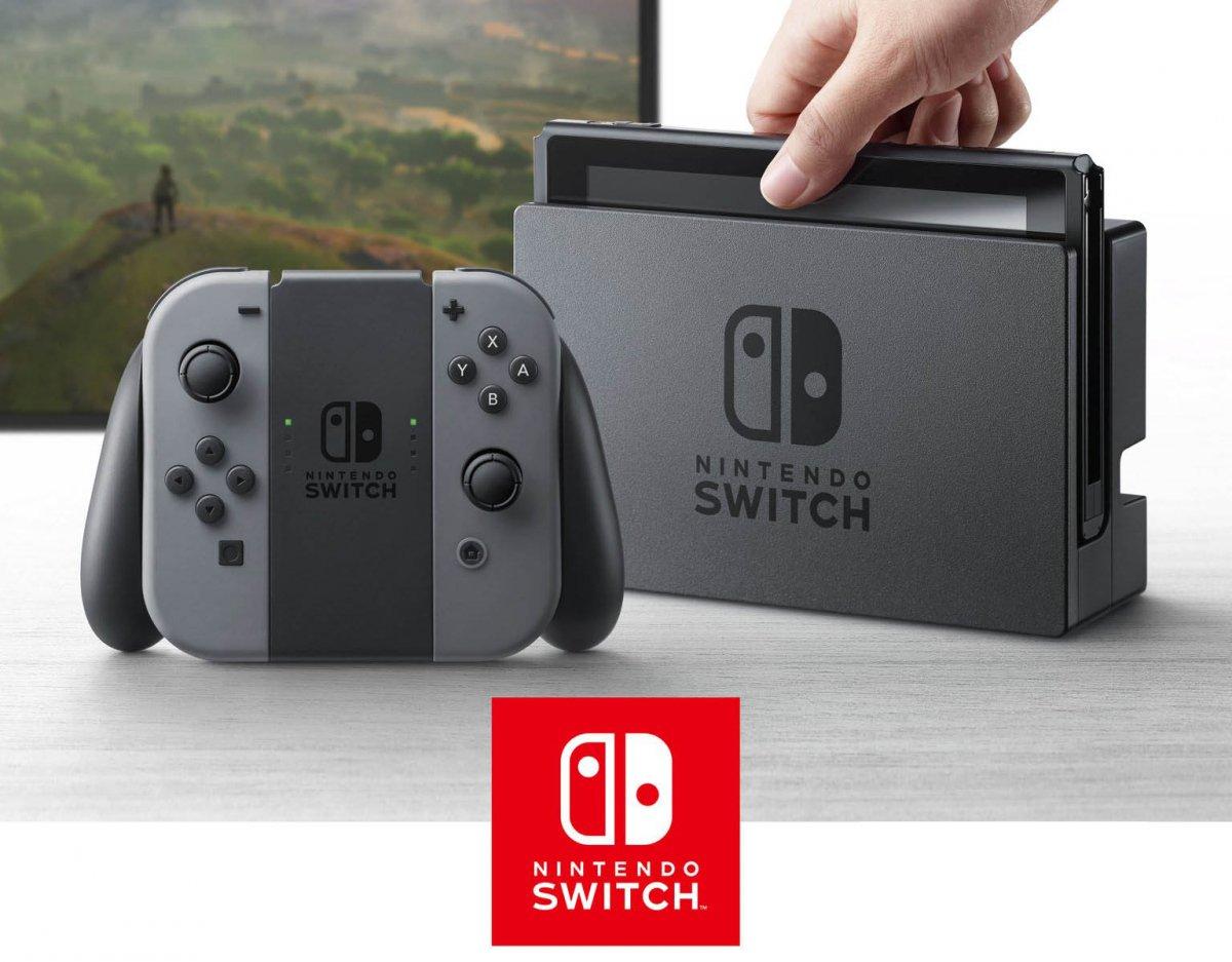 Nová herná konzola Nintendo Switch