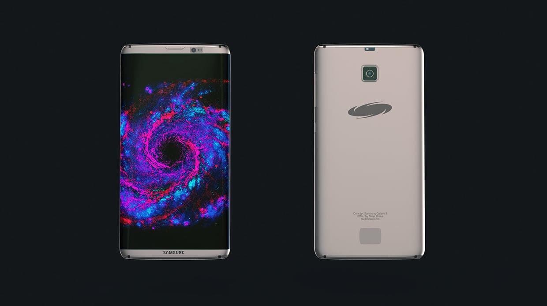 Koncept Samsung Galaxy S8