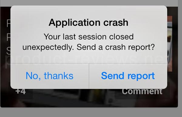 app-crashing