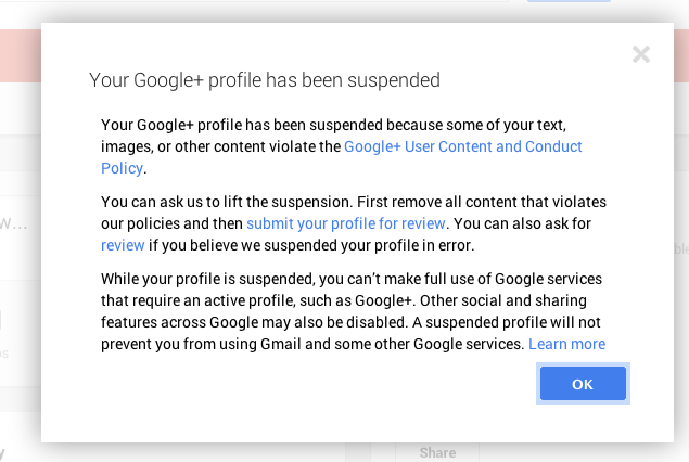 google-plus-account-suspended