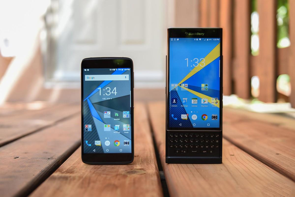 Blackberry DTEK50 a BlackBerry Priv