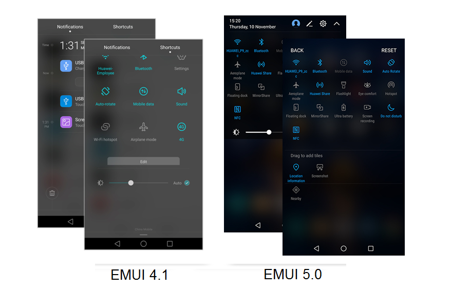 emui-40-vs-emui-50
