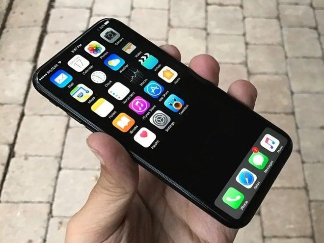 Koncept nového iPhone 8