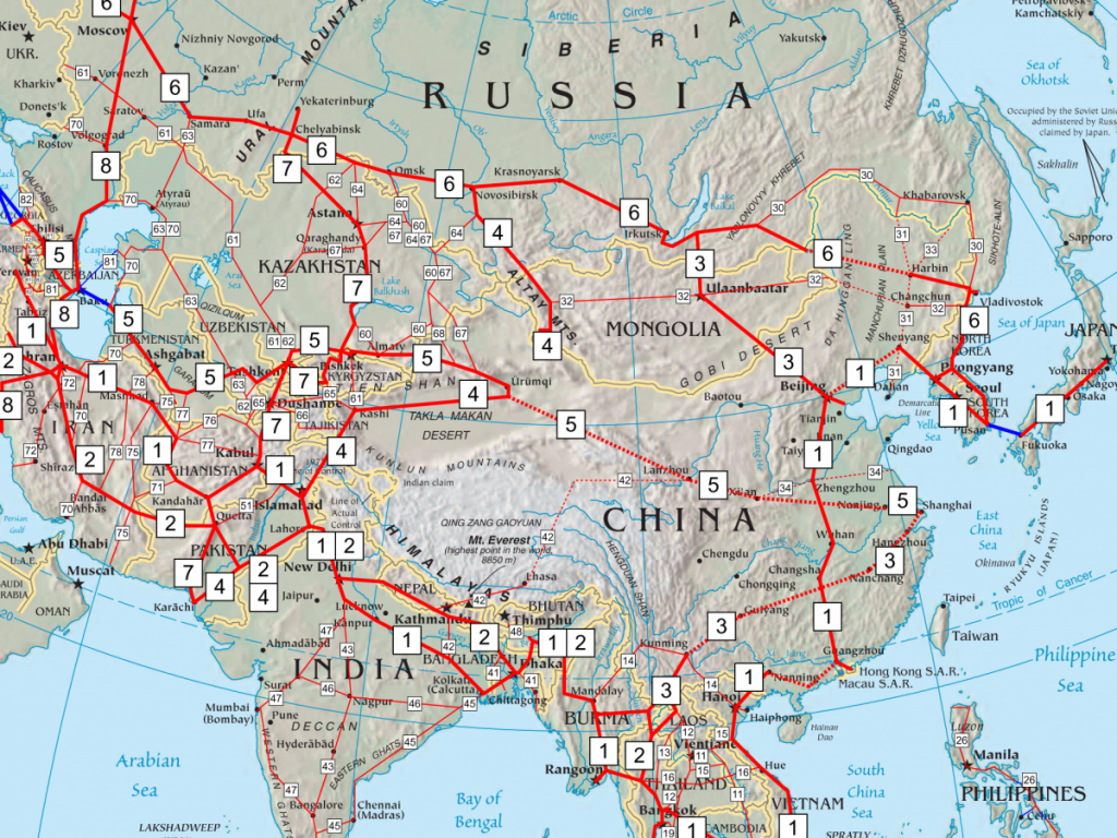 Asian Highways Network