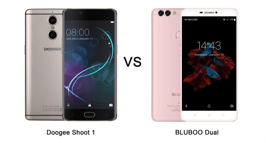 Bluboo Dual vs Doogee Shoot 1