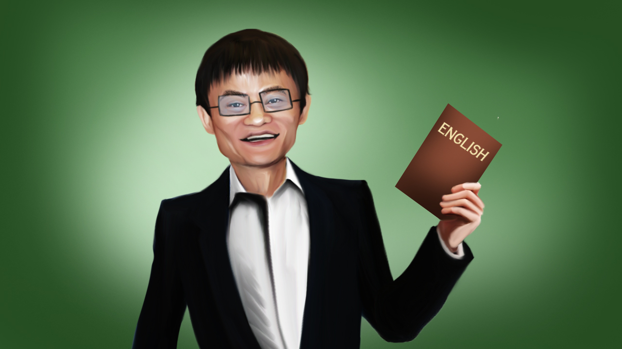 jack ma english teacher