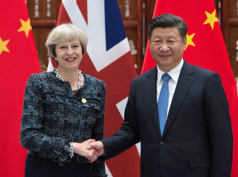 China- UK