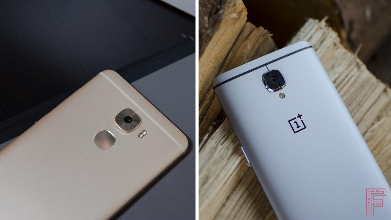 phone will leeco le pro 3 vs oneplus family four