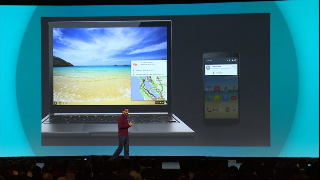 pichai chrome os