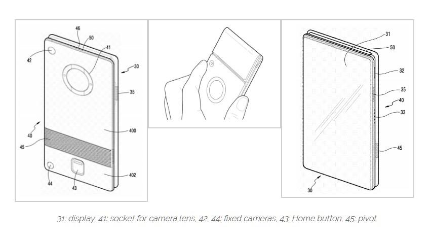 Jeden z patentov Samsungu