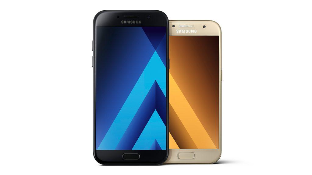 Samsung Galaxy A3 a A5 (2017)