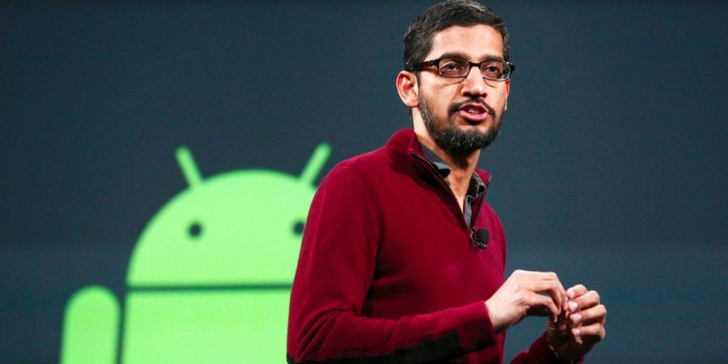 Sundar Pichai Android