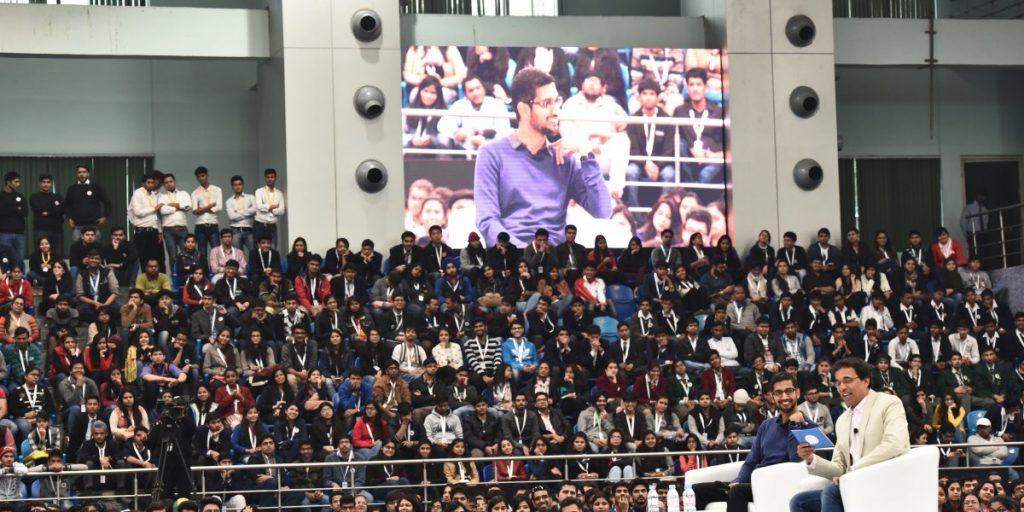 Sundar Pichai Delhi University