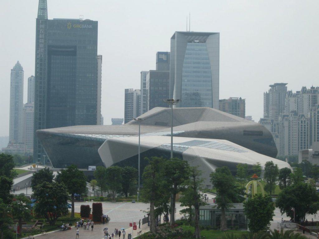 The Guangzhou Opera House