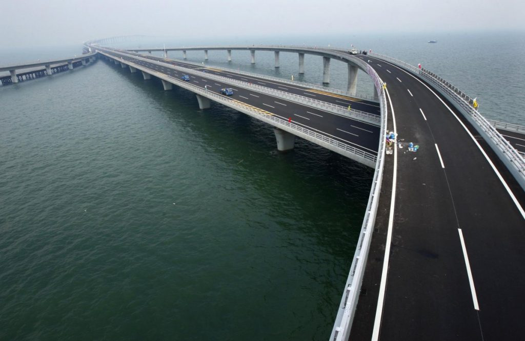 The Jiaozhou Bay Bridge