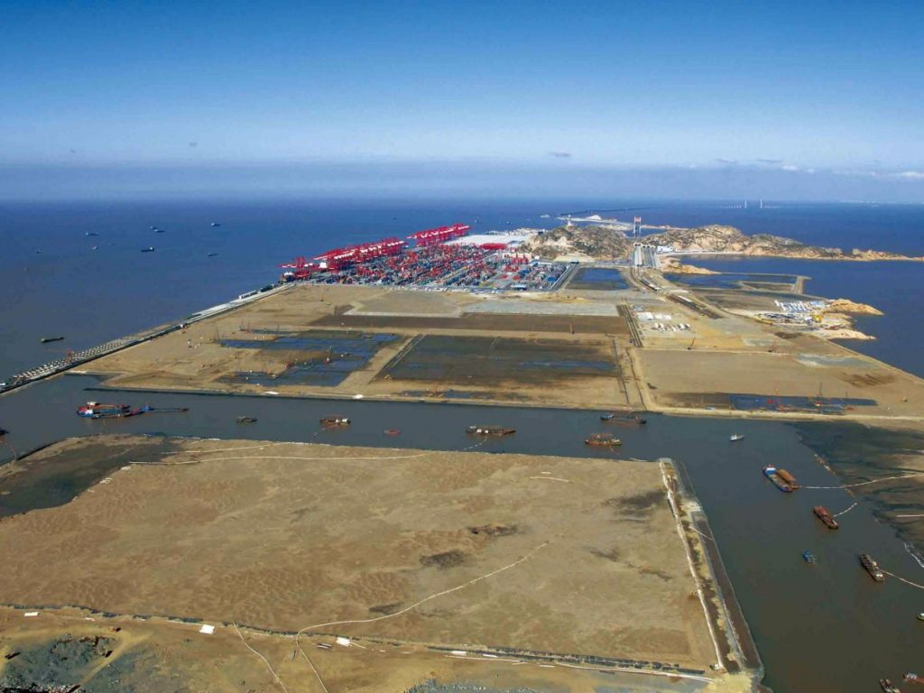 The Shanghai Yangshan Deep Water Port Project