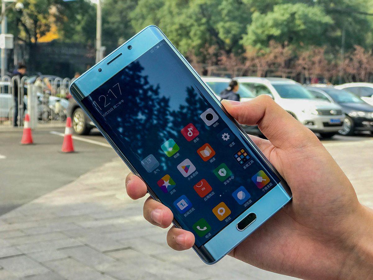 Xiaomi Mi Note 2 modry