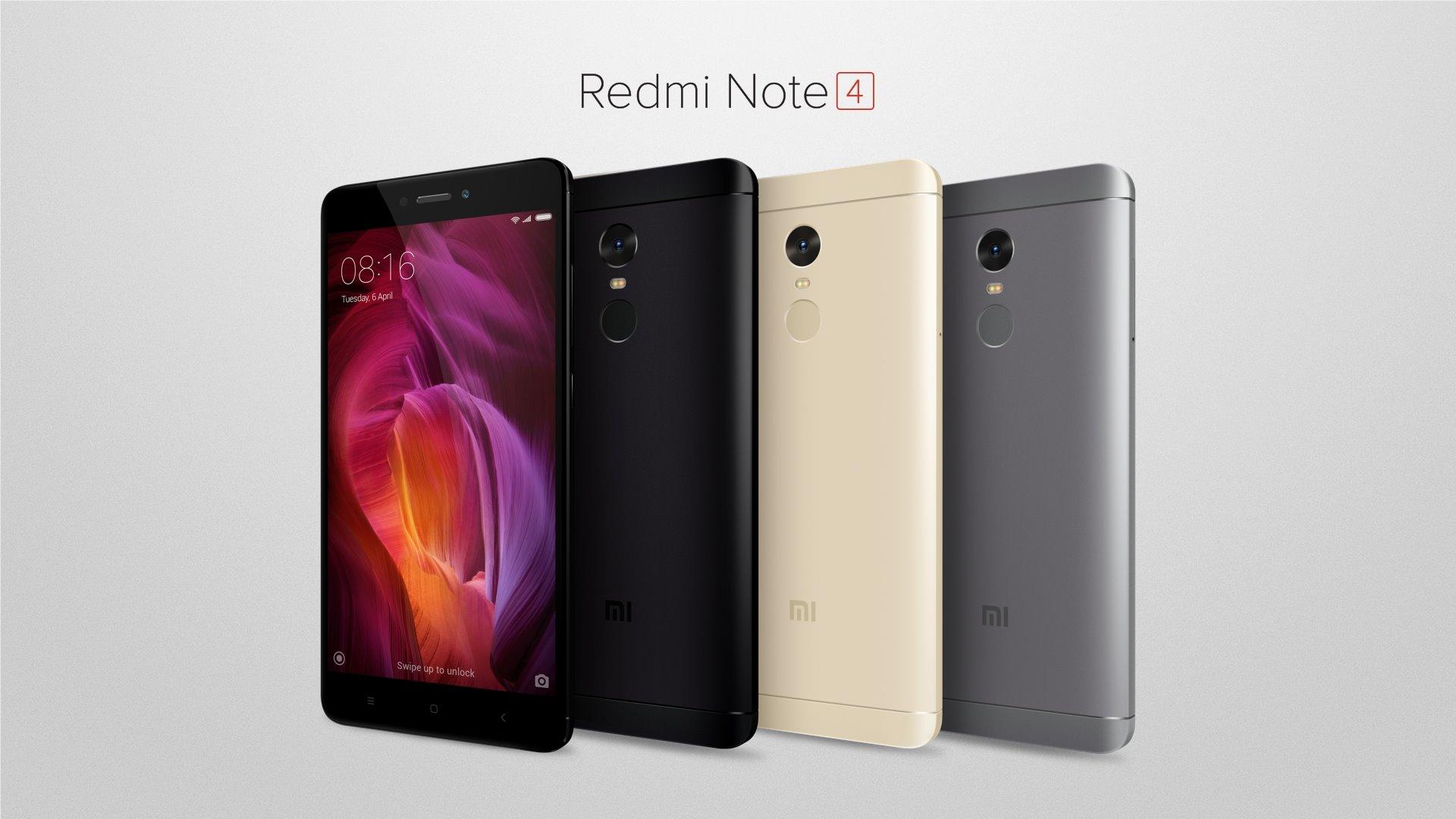Indick½ Xiaomi Redmi Note 4 je vybaven½ Snapdragonom 625 a 4 GB RAM pamäÅ¥ou Cena začna od 137 €