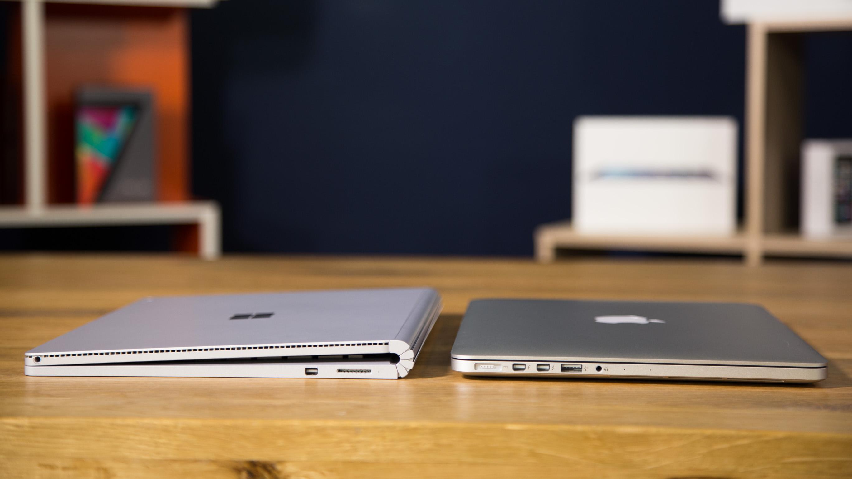 Surface vs. MacBook