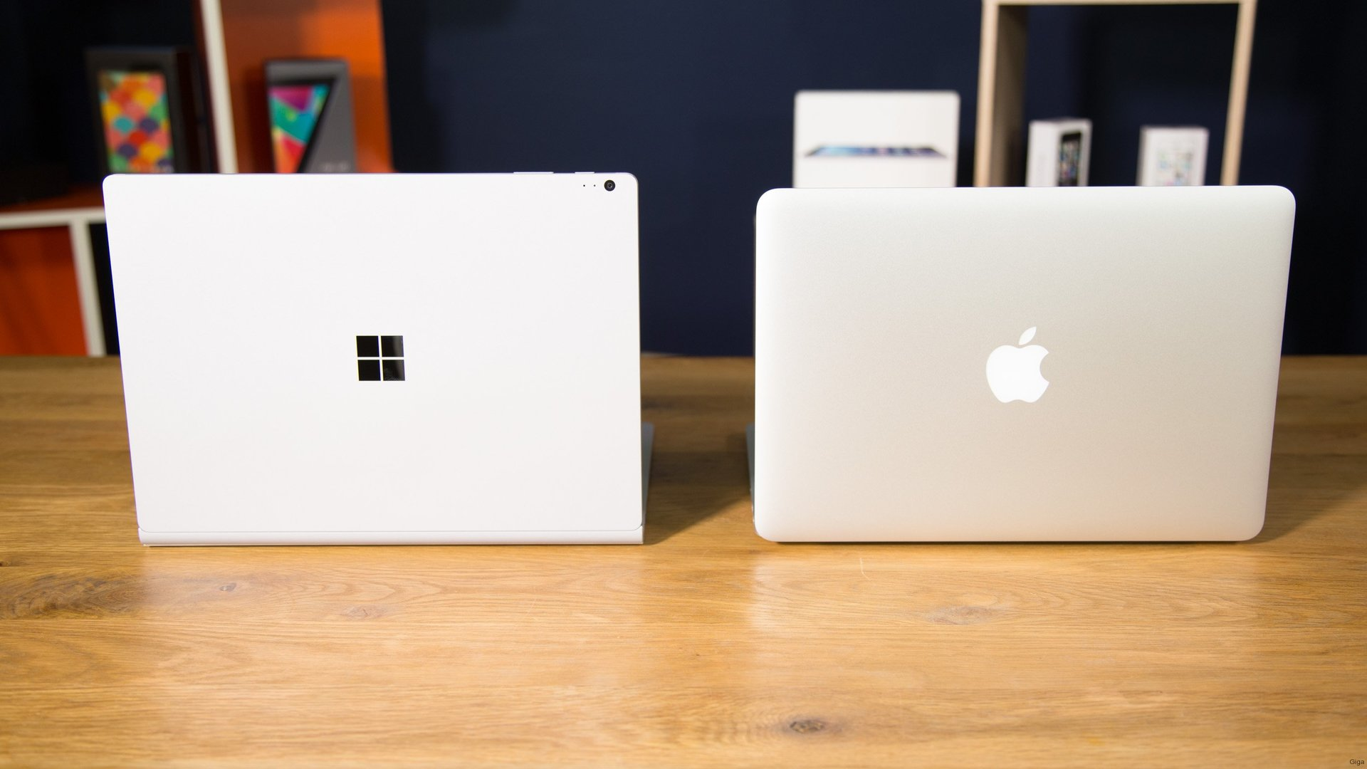 Surface vs. MacBook