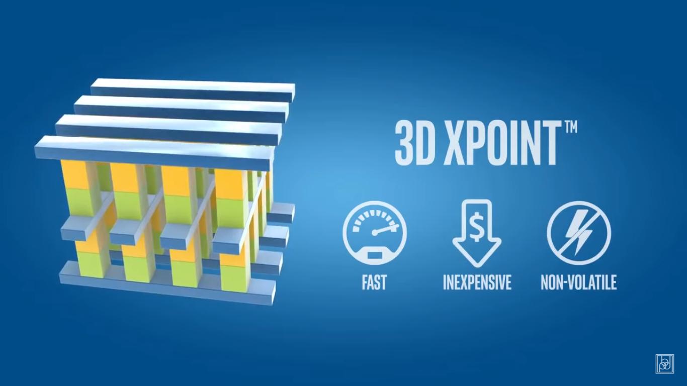Intel Optane 3D XPoint