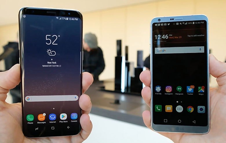 Samsung Galaxy S8 vs. LG G6