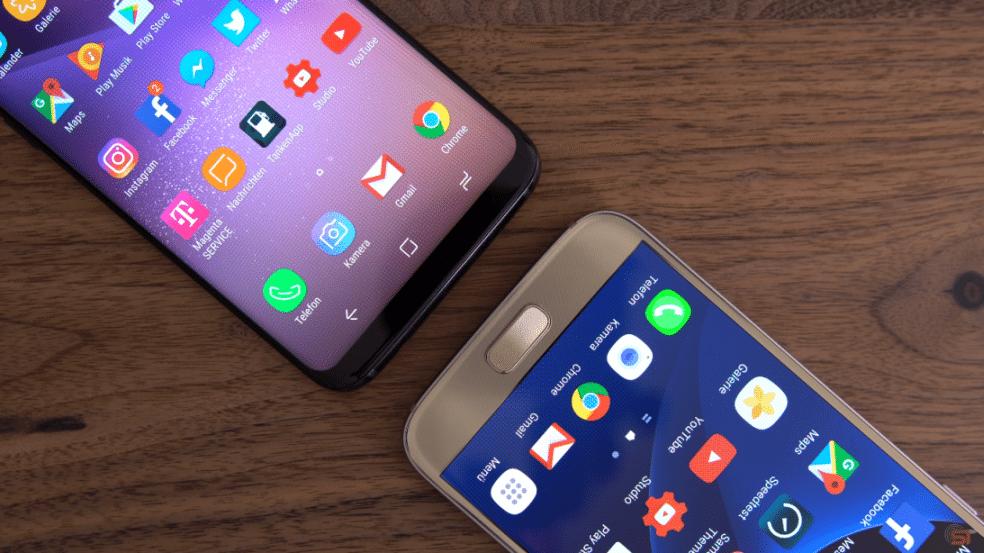 Galaxy S8 vs. Galaxy S7