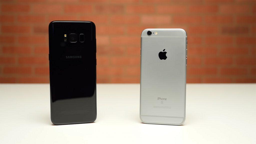 iPhone 6S vs Galaxy S8
