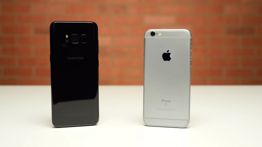 iPhone 6S vs Galaxy S8